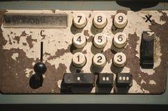 La calculatrice antique Photo libre de droits