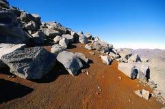 La Caldera de Taburiente mountain in La Palma at Canary islands Stock Photography