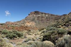 La caldera externa del EL Teide Imagen de archivo libre de regalías