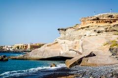 La Caleta 加那利群岛tenerife 西班牙 库存照片