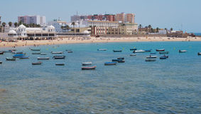 La Caleta beach Royalty Free Stock Photos