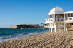 La Caleta beach Royalty Free Stock Images