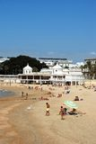 La Caleta beach, Cadiz. Royalty Free Stock Photos