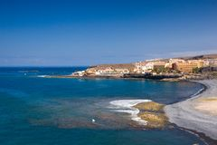 La Caleta, Tenerife fotografía de archivo