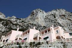 La Caleta village in Gibraltar Stock Image