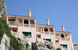 La Caleta village in Gibraltar Royalty Free Stock Images