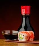 La California rotola i sushi Fotografia Stock