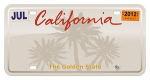 La Californie Images stock