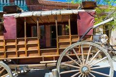 La Californie Colombie une vraie vieille ville occidentale de fièvre de l'or images libres de droits