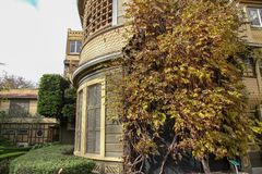 La Californie, Etats-Unis-décembre 12,2018 : La maison de Winchester est maison de fantôme la plus célèbre en Californie image stock