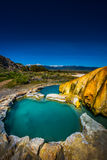 La Californie Hot Springs Bridgeport CA Etats-Unis Photo libre de droits