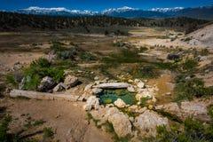 La Californie Hot Springs Bridgeport CA Etats-Unis Images libres de droits