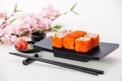 La Californie Maki Sushi Image stock
