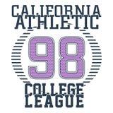 La Californie sportive Image libre de droits