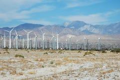 La Californie Windfarm Photographie stock