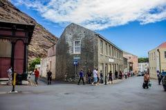 La calle de Jamestown Fotos de archivo