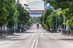La calle de Kazán Fotografía de archivo