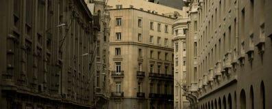 La calle de Madrid Fotografía de archivo libre de regalías