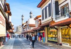 La calle de oro de Konya Fotos de archivo libres de regalías