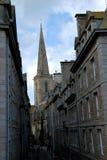 La calle del Santo-Malo Imágenes de archivo libres de regalías