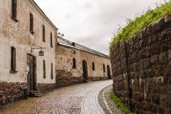 La calle en el castillo Imagen de archivo libre de regalías