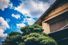 La calle en Kyoto, Jap?n fotografía de archivo