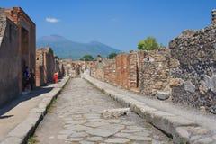 La calle más vieja Fotos de archivo