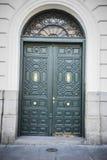 La calle más vieja en la capital de España, la ciudad de Madrid, su a Fotografía de archivo libre de regalías