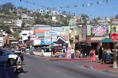 €œLa Calle Primera de la calle de Ensenada's Foto de archivo