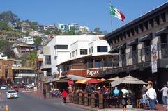 €œLa Calle Primera de la calle de Ensenada's Imagenes de archivo