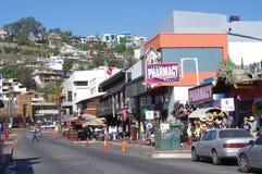 €œLa Calle Primera de la calle de Ensenada's Fotos de archivo libres de regalías