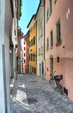 La calle reservada Fotos de archivo