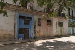 La calle trasera contiene a Havana Cuba Fotografía de archivo