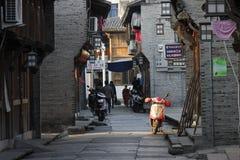 La calle vacía Imagen de archivo libre de regalías