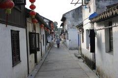 La calle vieja Foto de archivo libre de regalías