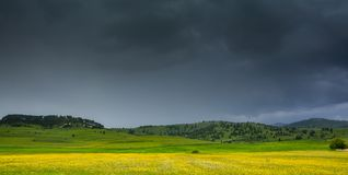 La calma antes de la tormenta Foto de archivo libre de regalías