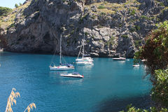 La Calobra beach Royalty Free Stock Image