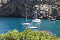 La Calobra beach Royalty Free Stock Photography