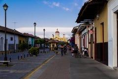 La Calzada-Straße von Granada Lizenzfreie Stockfotos