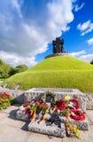 LA CAMBE, FRANKRIJK - JUNI 14, 2014: Duitse Militaire Begraafplaats en M Stock Foto