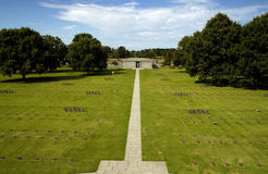 La Cambe German Cemetery, Normandy Stock Photos
