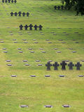 La Cambe German war cemetery, France Stock Photo