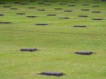 La Cambe German war cemetery, France Royalty Free Stock Image