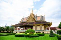 La Cambogia Royal Palace 7 Immagine Stock Libera da Diritti