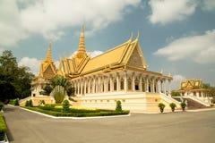 La Cambogia Royal Palace, il trono Corridoio Immagini Stock