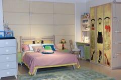La camera da letto Fotografia Stock Libera da Diritti