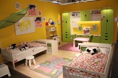 La camera da letto del bambino Fotografia Stock Libera da Diritti