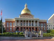 La Camera dello stato a Boston Immagini Stock