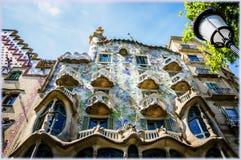 La Camera di Batllo, Barcellona, Spagna Fotografia Stock
