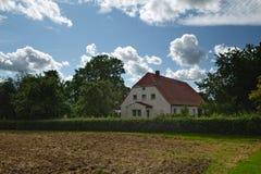 La Camera ha elencato come monumenti in Kirchdorf, Meclemburgo-Pomerania, Germania Fotografia Stock Libera da Diritti